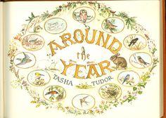 AROUND THE YEAR. Tudor, Tasha : Cellar Door Books - The World of Tasha Tudor