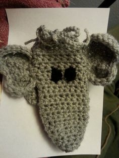Elephant Willie warmer elephant  novelty gift by SlickeryAfterDark
