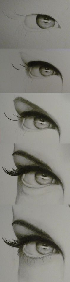 How to draw an eye step by step by AislingH
