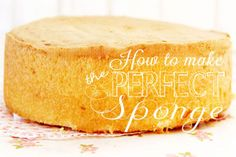 How to make a perfect sponge - Red Brolly