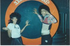 Jody Watley and Jeffrey Daniels...two long time Soul Train dancers who formed Shalamar with Howard Hewitt