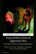 From the torture of detainees at Abu Ghraib to unnecessary military attacks on civilians, this book is an account of the violations of international criminal law committed during the United States invasion of Iraq. Taking stock of the entire war, it uniquely documents the overestimation of the successes and underestimation of the failings of the Surge and Awakening policies. The authors show how an initial cynical framing of the American war led to the creation of a new Shia-dominated…