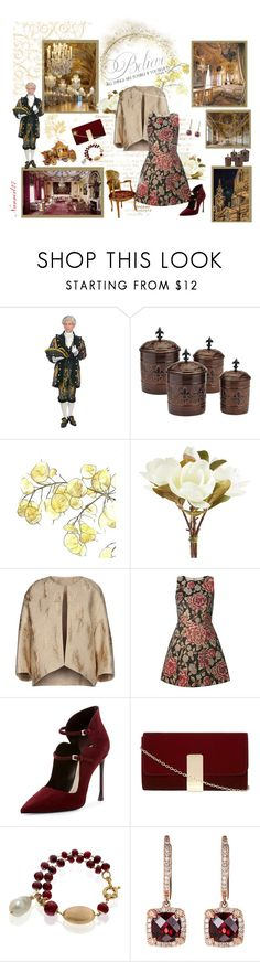 """A day in Versailles..."" by nannerl27forever ❤ liked on Polyvore featuring Old Dutch, Prada, Pier 1 Imports, Giambattista Valli, Alice + Olivia, Christian Dior, Dorothy Perkins and Effy Jewelry"