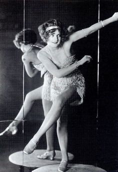 Bee Jackson, world charleston champion, dancing at the Picadilly Hotel Cabaret, London (1925)