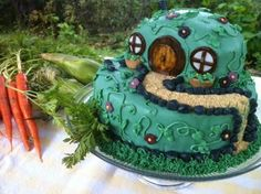 Considering a Hobbit themed birthday party, since The Hobbit releases a few days before my birthday