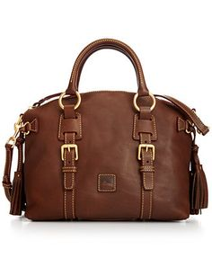 Dooney & Bourke Florentine Bristol Satchel--I've been looking for the perfect bag in this color. Just can't justify paying $300+ for a handbag. Come on sale!!!