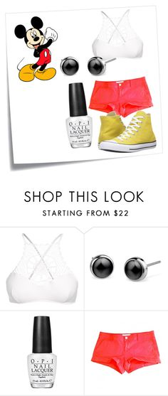 """Mickey Mouse"" by hannahnewtonxx ❤ liked on Polyvore featuring Post-It, Disney, Apex, OPI, Abercrombie & Fitch, Converse, disney, mickeymouse and disneycharacter"