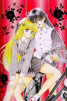 Sailor Moon - Minako and Rei