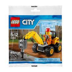 LEGO City 30312 Demolition Driller Set New/Sealed!!  40pcs Ages 5+  #LEGO