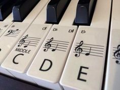 PIANO stickers CLEAR Keyboard / Piano Stickers up to 88 Keys | Etsy 88 Key Piano, The Piano, Best Piano, Piano Keys, 88 Key Keyboard, Keyboard Stickers, Keyboard Piano, Solfege Piano, Above And Beyond
