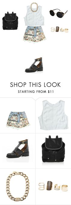 """""""Untitled #45"""" by elenekhurtsilava on Polyvore featuring Boohoo, Lush Clothing, River Island, STELLA McCARTNEY, Kardashian Kollection, With Love From CA and Topshop"""