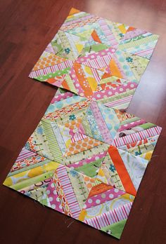 April do. Good Stitches Blocks by Cut To Pieces, via Flickr
