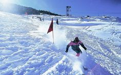When It's About Snow, Consider These Destinations For Skiing In India >>> Is skiing an adventure sport that excites you to the core? When we talk about skiing in India, the rugged Himalayas have been tagged as the destination attracting adventure enthusiasts from around the world.   #Skiing #India #Manali #Kashmir #Auli
