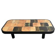 Ceramic Coffee Table by Roger Capron | From a unique collection of antique and modern coffee and cocktail…