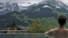 Reflecting In Peace And Silence In Adelboden | A Moment In The Pool Of The Cambrian Hotel