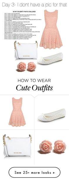 """""""Day 3- Random cute outfit READ D"""" by countrygirl-222 on Polyvore featuring Yumi, Michael Kors, women's clothing, women, female, woman, misses and juniors"""