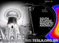 Tesla Magnifying Transmitter in the South Atlantic Anomaly – planetary zone of increased efficiency in obtaining Earth Resonance transmission. Description from institutotesla.org. I searched for this on bing.com/images