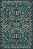 Introducing the Williamsburg Vintage Vinyl Floor Cloth by Spicher and Company. The initial collection is inspired by the rich textile, print and decorative arts archives of The Colonial Williamsburg Foundation. Fabric Rug, Woven Fabric, Floor Cloth, Floor Mats, Rug Size Guide, Light Blue Background, Traditional Area Rugs, Vinyl Flooring, Vinyl Rug