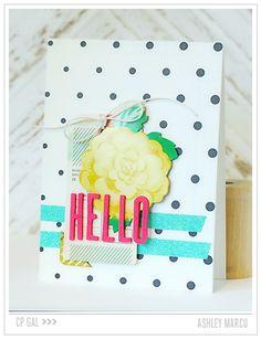 Crate Paper | Ashley Marcu | Hello Card