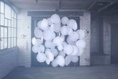 Installations by Nicola Yeoman.