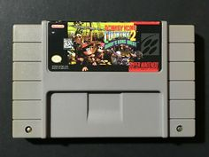 Donkey Kong Country Diddy's Kong Quest (Super Nintendo, for sale online Super Nintendo, Nintendo Games, Mario Party Games, Donkey Rescue, Diddy Kong, Donkey Kong Country, The Donkey, Entertainment System, Best Graphics