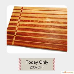 Today Only! .  Follow us on Pinterest to be the first to see our exciting Daily Deals. Buy now:https://www.etsy.com/listing/467591572/beautifully-hand-crafted-wooden-cutting?ref=shop_home_active_55   #etsy #etsyseller #etsyshop #etsylove #etsyfinds #etsygifts #loveit #instagood #instacool #shop #shopping #onlineshopping #instashop #musthave #instafollow #photooftheday #picoftheday #love #OTstores #smallbiz #cheeseboard #appetizerplatter #food #handmade #buttercream #cuttingboard #woodworking…