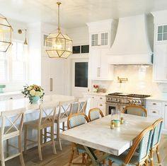 Kitchen. New Kitchen. Kitchen. New Kitchen with Suzanne Kasler Morris Lanterns…