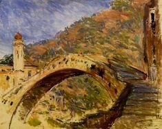 Dolceacqua, Bridge, 1884 - Claude Monet - WikiArt.org