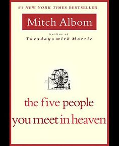 The Five People You Meet in Heaven Code Top 10 Airport Books reading buy purchase novel non fiction