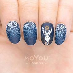 EXPECTO PATRONUM!! ⚡️⠀ ⠀ Plates - Animal 12/13 // Enchanted 05/16⠀⠀ Polishes - White Knight // Ginger Rust // Midnight Madness⠀ ⠀ #MYL #moyoulondon ⠀⠀⠀⠀ ⠀⠀⠀ #festivenails #xmasnails #winternails #notd #nailsoftheday #nailart #naillove #ignails #harrypotter #instanails #nailsofinstagram #bbloggers #nailfashion #holidaynails #fashion2017 #stampingnailart #christmasnails #christmasfashion #aw2017