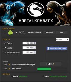 Mortal Kombat X Hack Cheats Tool Free Download No Survey