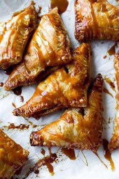 Caramel Apple Turnovers Make sure to follow cause we post alot of food recipes and DIY  we post Food and drinks  gifts animals and pets and sometimes art and of course Diy and crafts films  music  garden  hair and beauty and make up  health and fitness and yes we do post women's fashion sometimes  and even wedding ideas  travel and sport  science and nature  products and photography  outdoors and indoors  men's fashion too  postersand illustration  funny and humor and even home doctors…