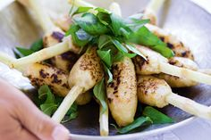 Sugar Cane Prawns Recipe - Taste.com.au