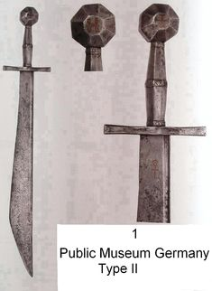 Ethnographic Arms & Armour - The Falchion or Malchus, the rarest medieval sword