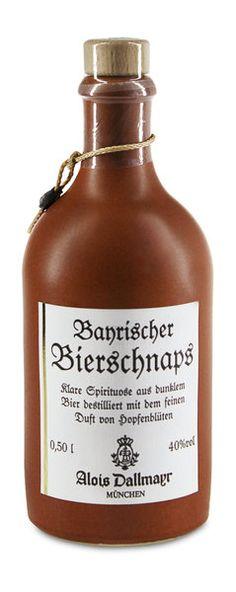 Dallmayr Bierschnaps im Tonkrug - Dallmayr seit 1700