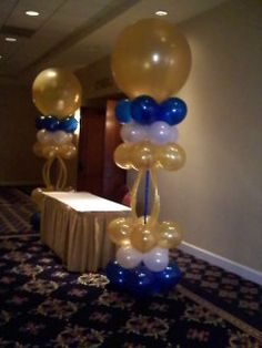 Balloon Columns for your next corporate meeting or conference.