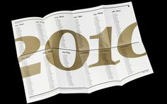 Promo Mailer 2010 by Make_Studio, via Behance.