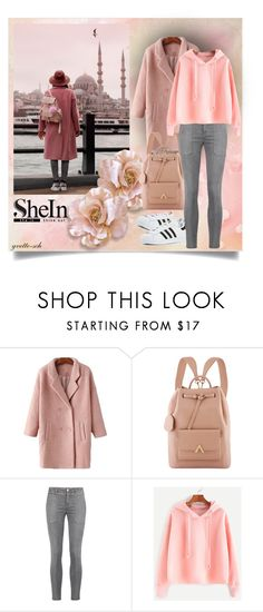 """""""City Trip"""" by yvette-sch ❤ liked on Polyvore featuring Current/Elliott and adidas"""