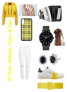 """""""If Your Yellow, Your A Fan"""" by mememiles on Polyvore featuring art"""