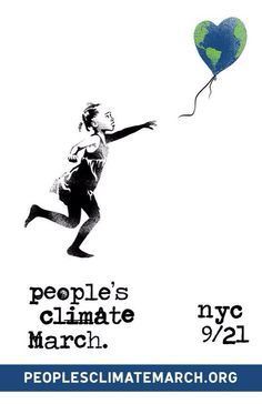 People's Climate March, NYC 9/21. Join Us!!  #climatemarch