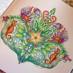 @johannabasford #johannabasfordlostocean #johannabasford #lostocean #coloring #coloringbook #colorindolivrostop #oceanodellemeraviglie