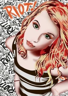 Hayley Williams from Paramore :)