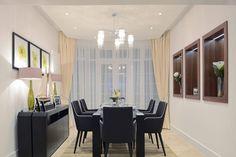 Luxury Dining Room | JHR Interiors