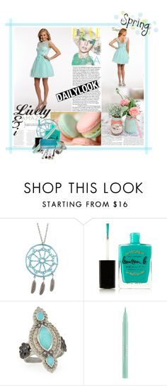 """Spring into Style!"" by camillelavie ❤ liked on Polyvore featuring Aéropostale, Lauren B. Beauty, Armenta, Stila, Trish McEvoy, women's clothing, women, female, woman and misses"