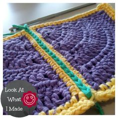 How to Join Crochet Squares -Completely Flat Zipper Method.