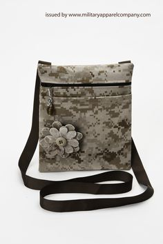 Great shopping companion and perfect to carry your p. Great shopping companion and perfect to carry your passport while traveling. specializing in custo. Navy Uniforms, Military Uniforms, Camo Crafts, Military Crafts, Custom Purses, Army Mom, Military Love, Army Uniform, Purses And Bags