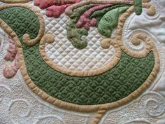 Fabulous quilting and applique!