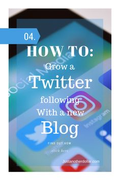 30000 Twitter Followers with a new blog! How TO!