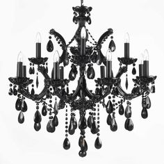 Harrison Lane Maria Theresa 12 Light Crystal Chandelier
