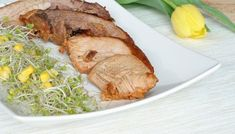 Łopatka pieczona w musztardzie na Wielkanocny obiad - SmakUla Gluten Free Recipes, Free Food, Steak, Pork, Turkey, Predator, Bricolage, Bulgur, Meat